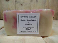 raspberry vanilla soap clean and fresh natural