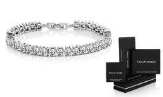Groupon - Bracciale con cristalli Swarovski® a 14,99 € (84% di sconto). Prezzo deal Groupon: €14,99