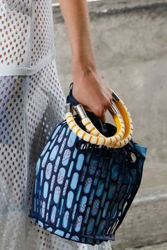 Kenzo Spring 2015 Ready-to-Wear - Bag Details