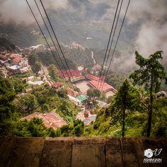 Mussoorie - Ropeway between the clouds, Heavenly!