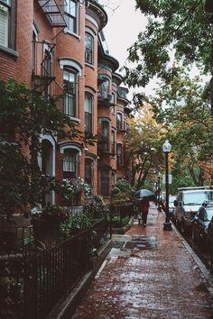 Brownstone , New York City City Aesthetic, Travel Aesthetic, Photographie New York, Places To Travel, Places To Go, Europe Places, Travel Destinations, Outdoor Reisen, Belle Villa