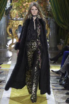 Roberto Cavalli Fall 2016 #MFW Fashion Show [Photo: Giovanni Giannoni]