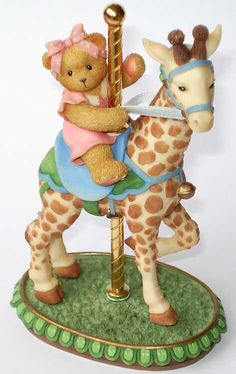 Heidi´s Cherished Teddies Galerie: FLOSSIE - I's Stick My Neck Out For You Anytime (589950)