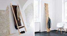 Τα ρούχα που έχουμε ήδη φορέσει δεν ξαναμπαίνουν στην ντουλάπα, μαζί με τα καθαρά. Δείτε, λοιπόν, πώς μπορείτε να τα τακτοποιείτε όμορφα και... με στιλ, σε πρωτότυπες αυτοσχέδιες κρεμάστρες! Ladder Decor, Oversized Mirror, Furniture, Home Decor, Decoration Home, Room Decor, Home Furnishings, Home Interior Design, Home Decoration