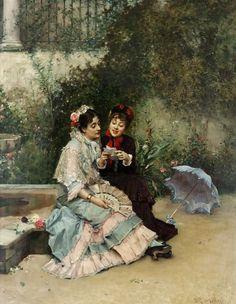 Письмо (The letter)RAIMUNDO DE MADRAZO Y GARRETA (SPANISH, 1841-1920)