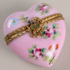 Limoges Heart Box.