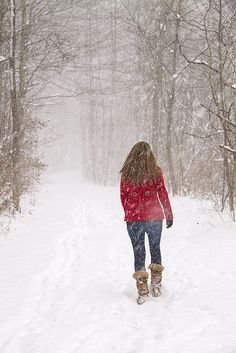 Walking in a winter wonderland...