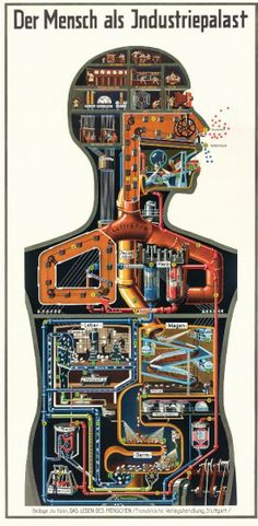 Fritz Kahn's Fantastical Journey Through the Body