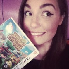 She knows what's up!! I love animal crossing!!! XD