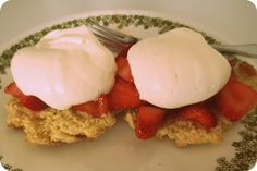 Jill's Recipe Box: Pioneer Strawberry Shortcake