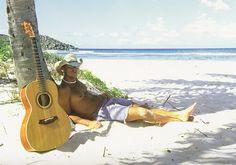 Man + Beach + Guitar