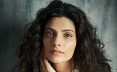 Lataa kuva Saiyami Kher, 4k, muotokuva, kauneus, ruskeaverikkö, intialainen näyttelijä, Bollywood