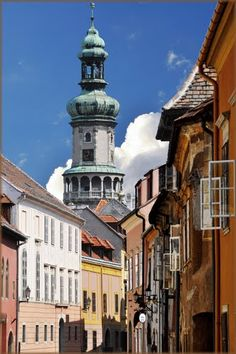 Sopron - with its romantic little streets