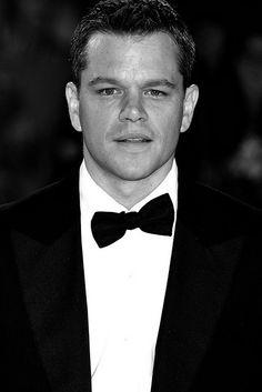 Matt Damon (I'm sweating, LOL! <3)