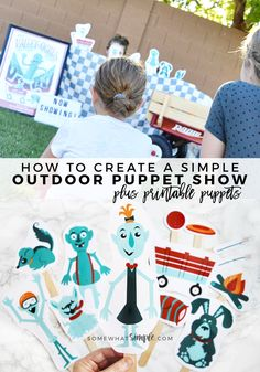 DIY Outdoor Puppet S