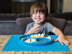 All-In-One Plate and Placemat by Happy Mat
