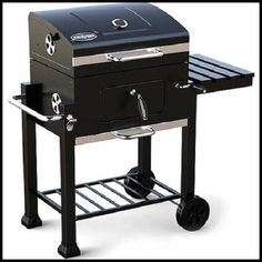 NEW BBQ Charcoal Grill with bottle opener
