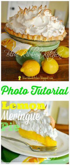 This is a really great lemon meringue pie and absolutely worth making. Sometimes when I see a long wordy recipe, it can feel li. Lemon Pie Recipe, Lemon Recipes, Pie Recipes, Sweet Recipes, Dessert Recipes, Cooking Recipes, Recipies, Lemon Icebox Pie, Lemon Meringue Pie