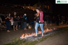 Our brave firewalkers walked on hot coals on Marazion Beach under a beautiful full moon.  Find out more about how you can take part in our events by visiting our website >>  www.chsw.org.uk/fundraising-events #chsw #firewalk #charity #childrenshospice #marazion