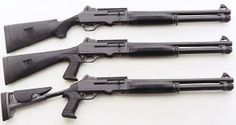 Benelli M4 Tactical Shotgun.