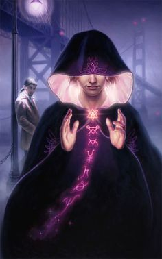 Modern day mage or illusionist, #urbanfantasy character inspiration  Dan dos Santos