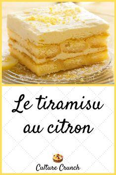 Lemon Desserts, Easy Desserts, Cake Recipes, Dessert Recipes, Good Food, Yummy Food, Pudding Desserts, Cordon Bleu, Cherry On The Cake