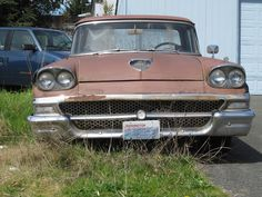 seattles parked cars 1958 ford ranchero - 1958 Ford Ranchero For Sale