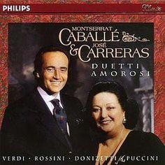 Cd Montserrat Caballe & Jose Carreras - Duetti Amorosi - R$ 45,00 no ...