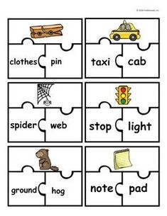 Compound Words Hands-On Puzzle Activity Introduce compound words to your students and make them feel successful for being able to read and spell such long words! Hands-on games and activities make learning about compound words more fun!