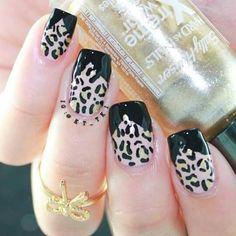 Different leopard print