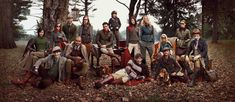 The Hilfiger Family, Fall/Winter 2012 Campaign