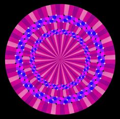 Optical Illusions, Visual Oddities Tricks for your Eyes and Mind Optical Illusion Quilts, Optical Illusion Gif, Art Optical, Illusion Art, Trippy Visuals, Eye Illusions, Eye Tricks, Trippy Gif, Cellphone Wallpaper