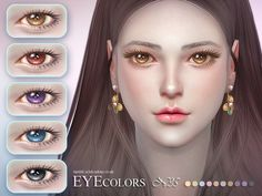 Eyecolor 35 by S-Club LL at TSR • Sims 4 Updates