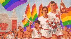 Sovjet-propaganda met een roos tintje