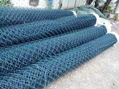 PVC coated chain link fence manufactured by 25 year experience factory