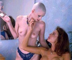 Forced Haircut, Female Mohawk, Shaved Heads, Bald Girl, Bald Women, Hair And Beauty Salon, Barber Shop, That Way, Kinky