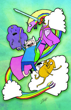 Adventure Time from Amelia Davis