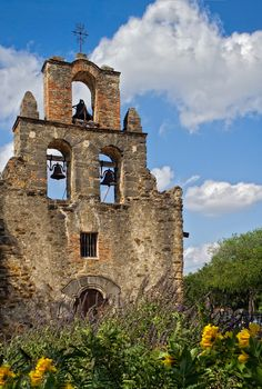 Texas, San Antonio Missions National Historical Park- I remember going to all the missions one weekend with my family, I loved them! So pretty!