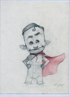 365 sketches - September 2013 - selection by Ramon Mascaros, via Behance
