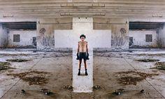 Rub Kandy, 'Cross The Mirror', Rome - unurth   street art