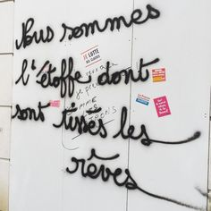 Shakespeare in the street. Street Art Quotes, Graffiti Quotes, Street Art Graffiti, Happiness Therapy, Some Sentences, Everyday Quotes, Cool Lyrics, Quote Citation, Soul Quotes