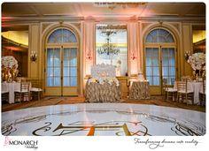 Stunning Blush French Vintage Wedding at the Westgate Hotel ~ Part 2