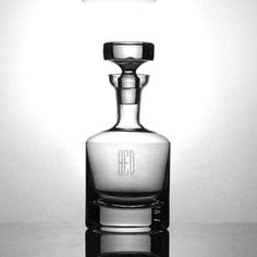 Buckingham Crystal Decanter By Ravenscroft