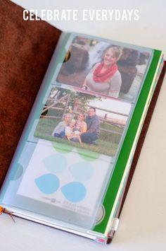 Celebrate Everydays: Using a Midori Traveler's Notebook for a Mom Business