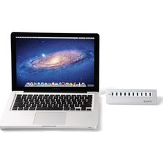 10 Ports Aluminum Apple-style Hub with 5v 4a Power Adapter and 3.3-foot USB 3.0 Cable Compatible with Iphone/ipad/htc Phones/samsung Galaxy Tab/samsung Galaxy Phone/samsung Galaxy Note/blackberry/mp3 Players/digital Camera/other USB Devices. http://www.amazon.com/gp/product/B00L7OX98I