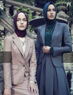 Exclusive Hijab Outfit in Suit that you'll want To Own – Girls Hijab Style &. Exclusive Hijab Outfit in Suit that you'll want To Own – Girls Hijab Style & Hijab Fashion Idea Muslim Dress, Hijab Dress, Hijab Outfit, Hijab Elegante, Hijab Chic, Hijab Office, Collection Eid, Moslem Fashion, Modest Fashion Hijab
