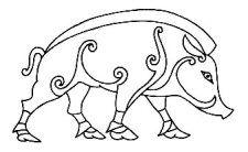 Celtic Boar Celtic Boar