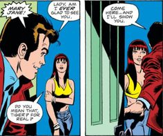 Peter shows his true love for Mary Jane in Amazing Spider-Man #149