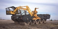 Swamp Logging Equipment | PWCE Designed and Built the Prototype This is what a real Swamp logger uses!