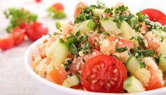 Couscous-Mozzarella-Salat